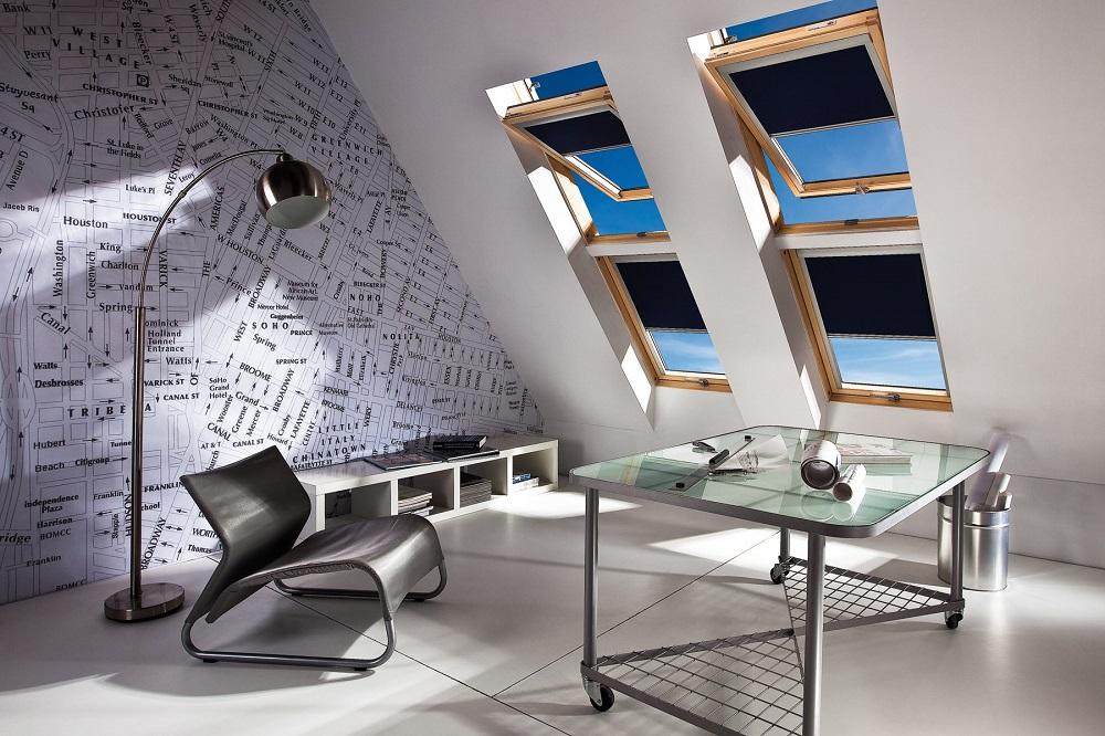 osłanianie okien dachowych